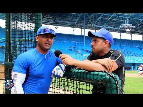 La entrevista, con el jonronero de la tarde, Wilfredo Aroche