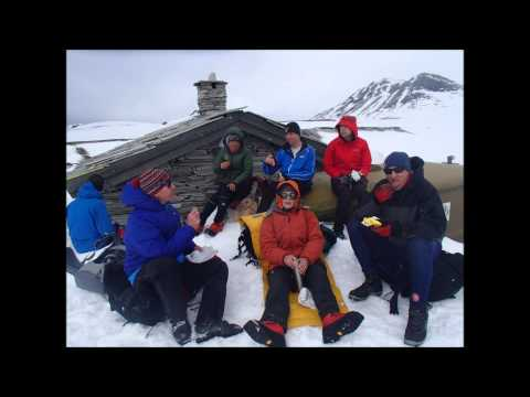 Hut to Hut Skiing in Norway April 2014