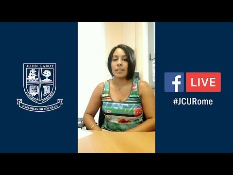 #JCURome Facebook Live: Orientation & Immigration