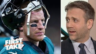 Carson Wentz can't outplay 40-year-old Josh McCown - Max Kellerman | First Take