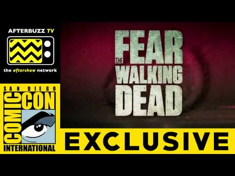 Cliff Curtis, Kim Dickens and Dave Alpert (Fear the Walking Dead) @ San Diego Comic Con 2015