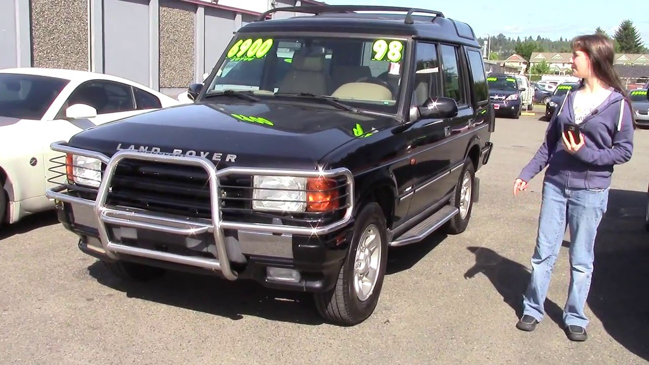 1998 Land Rover Discovery Le Stock 96160 At Sunset Cars Of Auburn