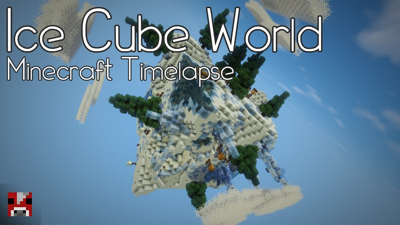 Minecraft timelapse ice cube world world download youtube gumiabroncs Image collections