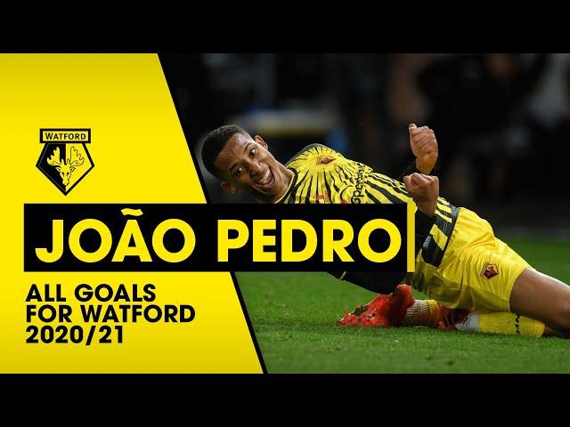 JOÃO PEDRO   ALL GOALS FOR WATFORD 2020/21
