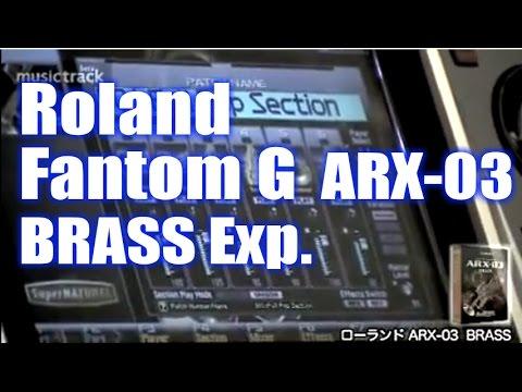 ROLAND FantomG ARX-03 BRASS