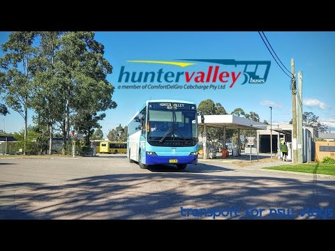 Transport for NSW Vlog No.1057 Hunter Valley Buses - Thornton