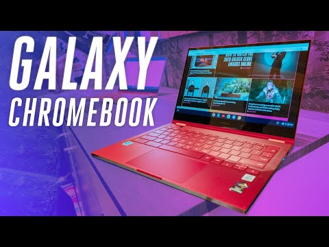 Samsung Galaxy Chromebook hands-on: ultra premium and super red