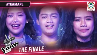 Team APL TOP 3 | The Voice Teens Philippines 2020