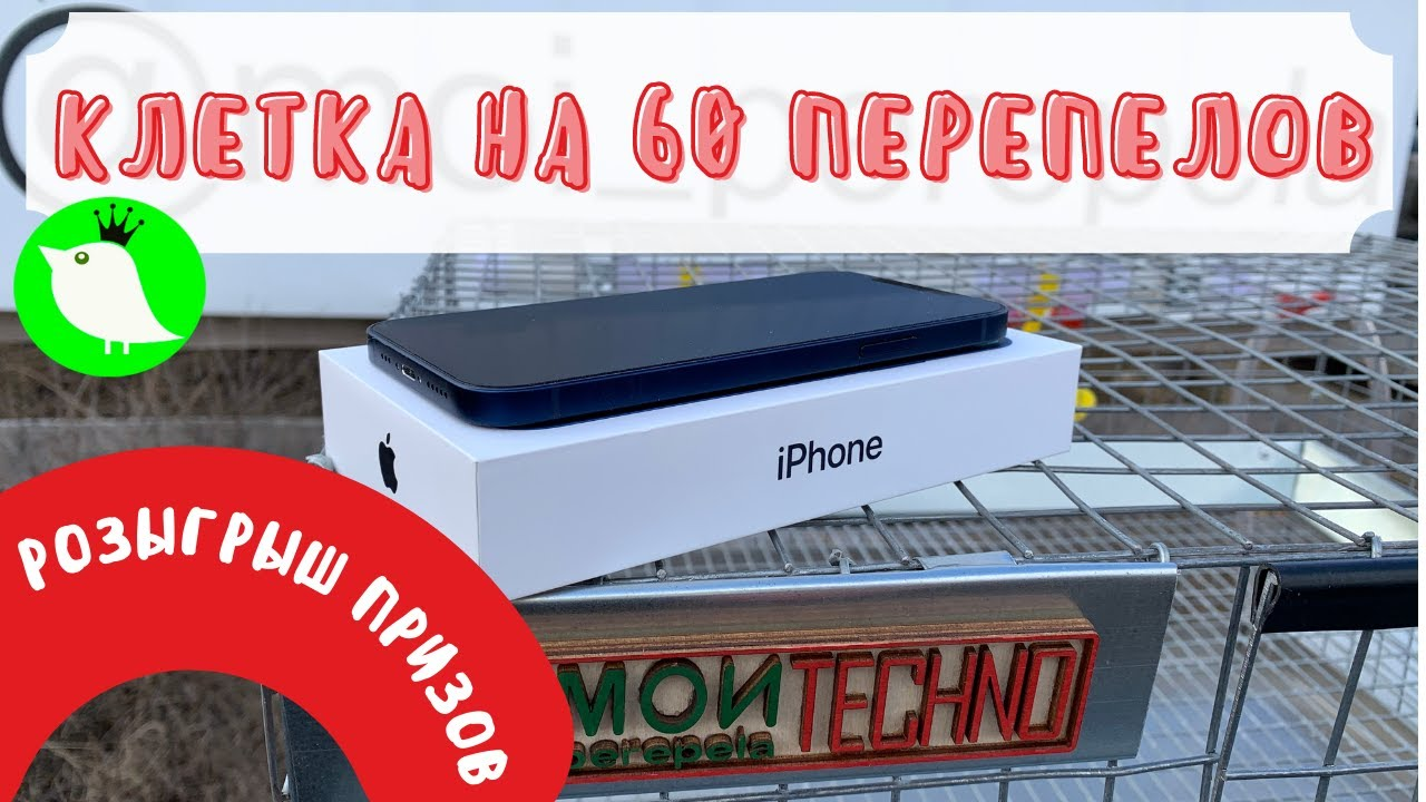 А у нас розыгрыш! iPhone12