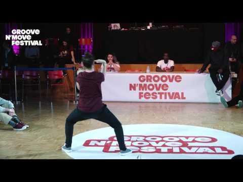 GROOVE'N'MOVE BATTLE 2017 - Tutting Semi-Final / Leïla VS Marco Alma