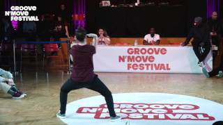 GROOVE'N'MOVE BATTLE 2017 - Tutting Semi-Final / Leïla VS Marco Alma