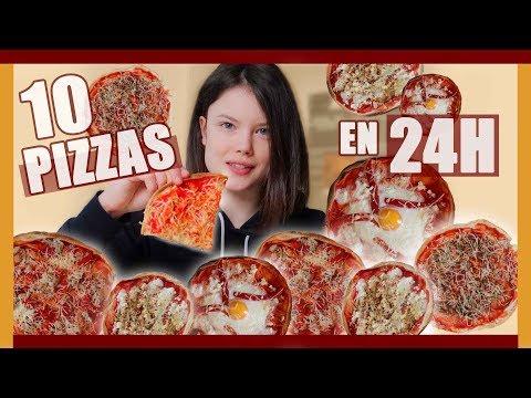 JE MANGE QUE DES PIZZAS PENDANT 24H - Claire
