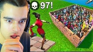 97 KILLS en 8 SEGUNDOS *WORLD RECORD* FORTNITE - AlphaSniper97