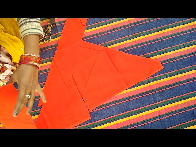 Rajputi dress cutting and stitching | magji cutting