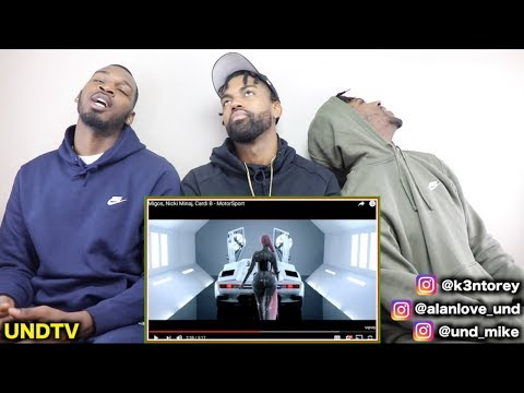 MIGOS, NICKI MINAJ, CARDI B - MOTORSPORT [REACTION]