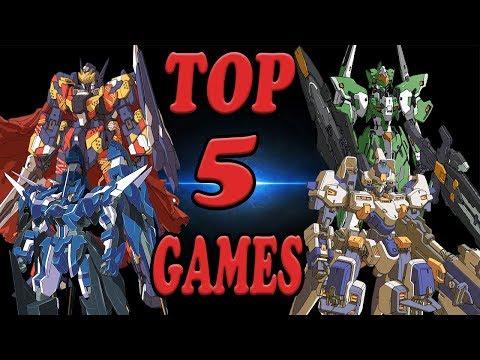 My top 5 Super Robot Wars Games!