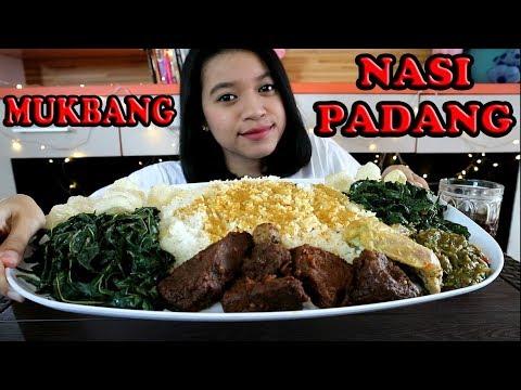 MUKBANG NASI PADANG    MUKBANG INDONESIA