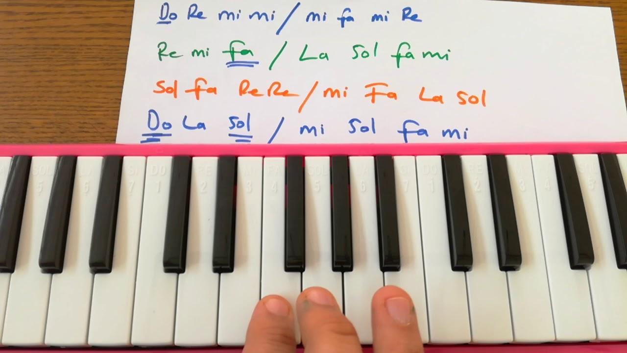 Melodika Da Benim Annem Güzel Annem Müzik öğretmeni Eşliğinde