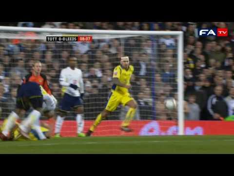 Tottenham 2 - 2 Leeds - 2010 FA Cup Fourth Round
