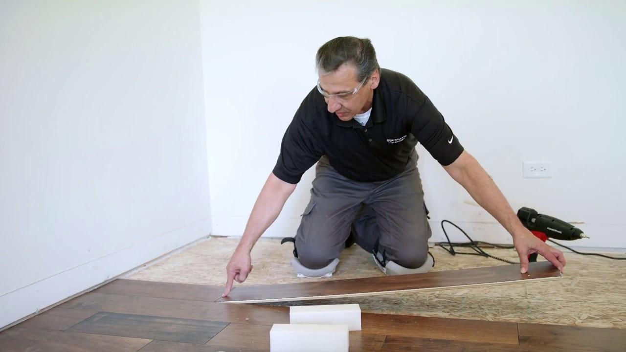 How To Install Wide Plank Engineered Hardwood Flooring Youtube