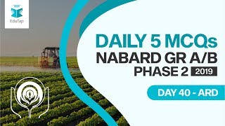 How to prepare for NABARD Gr A & NABARD Gr B 2019 Phase 2 Exam in 20