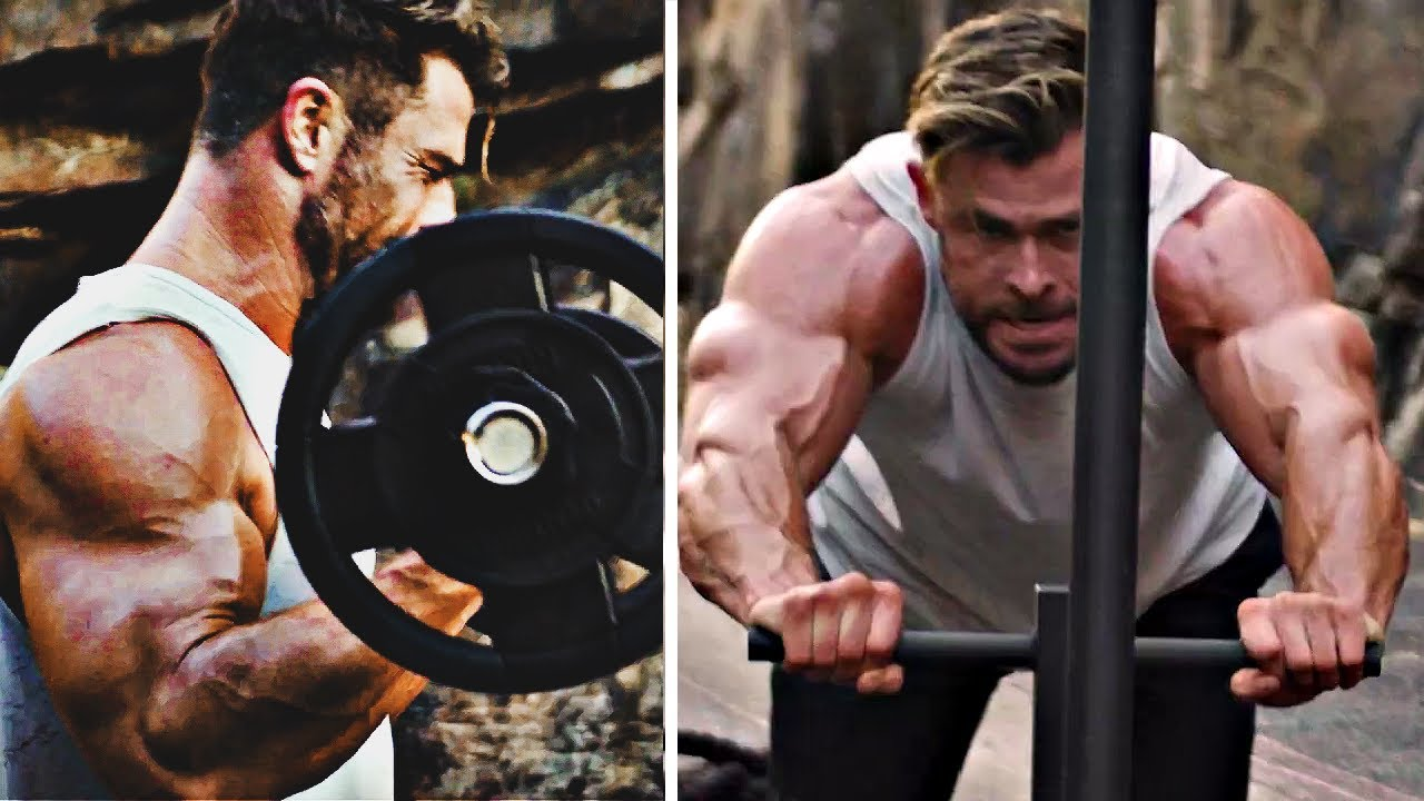 Download Chris Hemsworth BIGGEST THOR BODY EVER!! | Thor Love and Thunder Workout