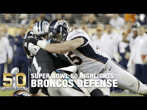 Broncos Defensive Super Bowl 50 Highlights | Panthers vs. Broncos | NFL