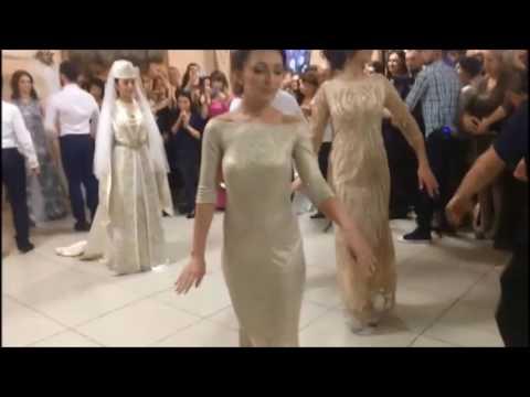 Осетинский танец жениха и невесты. Ирон чындзыхсав. Ossetian dance