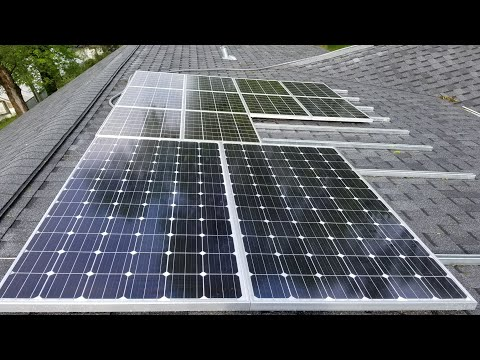 OFF GRID SOLAR SYSTEM UPGRADE IS NOW COMPLETED Pt#9