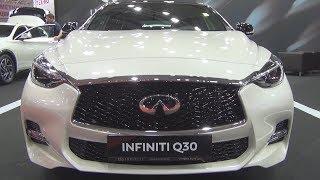 Infiniti Q30 Sport 2.0t AWD 211 hp 7DCT (2018) Exterior Walkaround