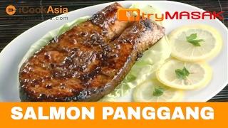 """""""Cara-cara memasak Salmon Panggang. Untuk melihat lebih 1000 lagi video masakan, layari http://www.trymasak.my ! Steps to cook Grilled Salmon. For 1000 ..."""