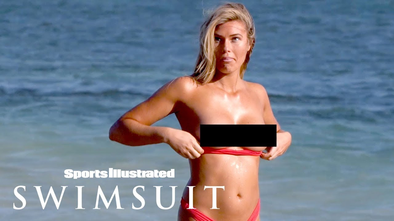 Samantha Hoopes Loses Her Bikini Top While Running In Nevis | Outtakes