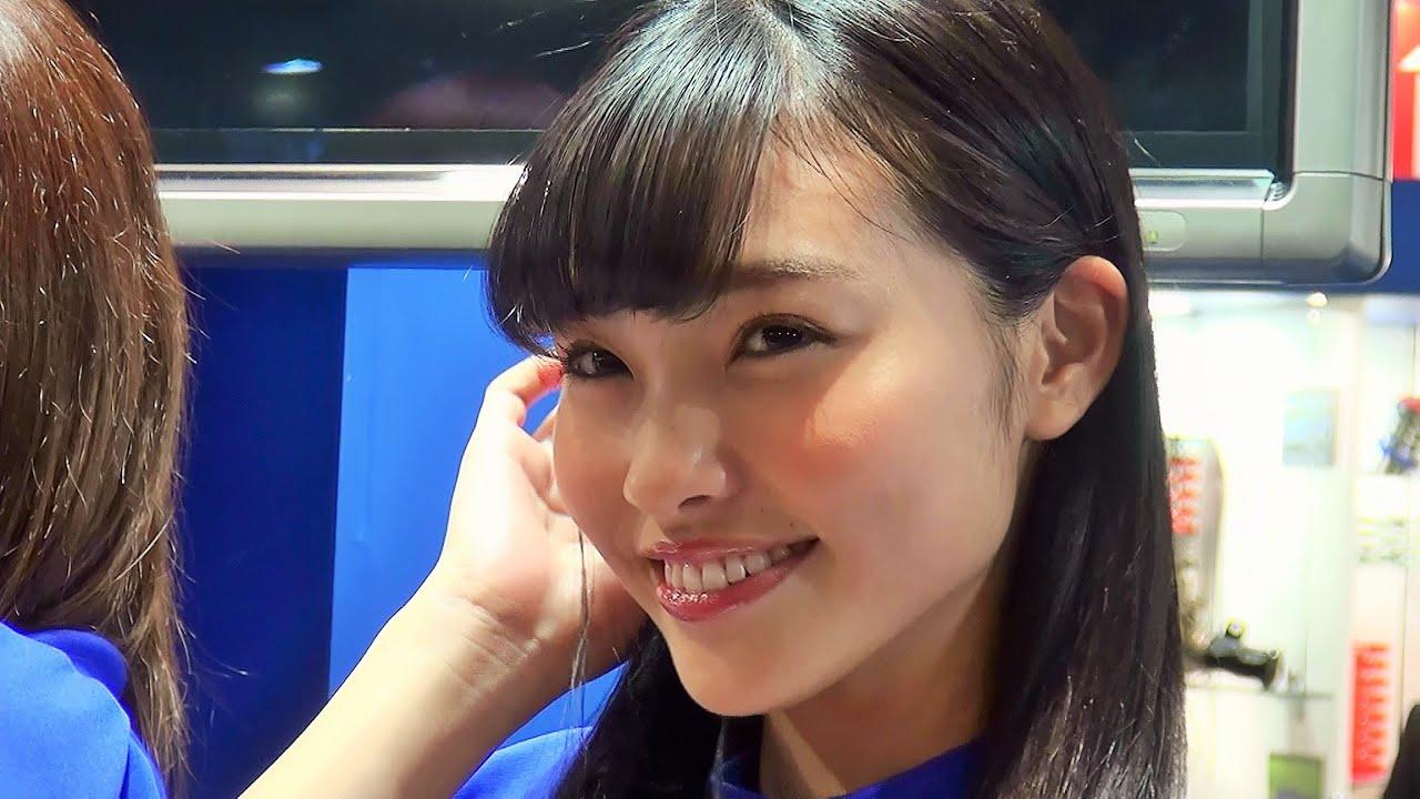 東京オートサロン2015 17歳の高校生レースクイーンは石原さとみ似! エンドレス 小林カレン TOKYO AUTO