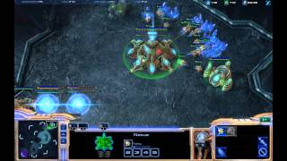 Basic Easy Protoss Opener / Build Order 4 Gate Part1