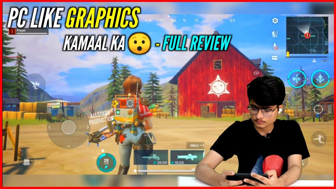 FARLIGHT 84 - PC LIKE GRAPHICS FOR MOBILE | GOOD OR BAD ?😯 | REVIEW #1