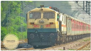 Poorva Express Accident : Route Diverted Rajdhani with EMD Monsters    Indian Railways