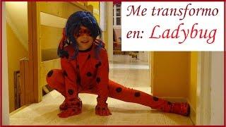 ME TRANSFORMO EN LADYBUG Y MIRA LOS RESULTADOS - MI DISFRAZ DE LADYBUG - PRODIGIOSA LADYBUG