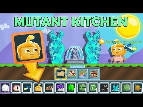 Making New Mutant Kitchen Items How To Profit New Event Growtopia Youtube