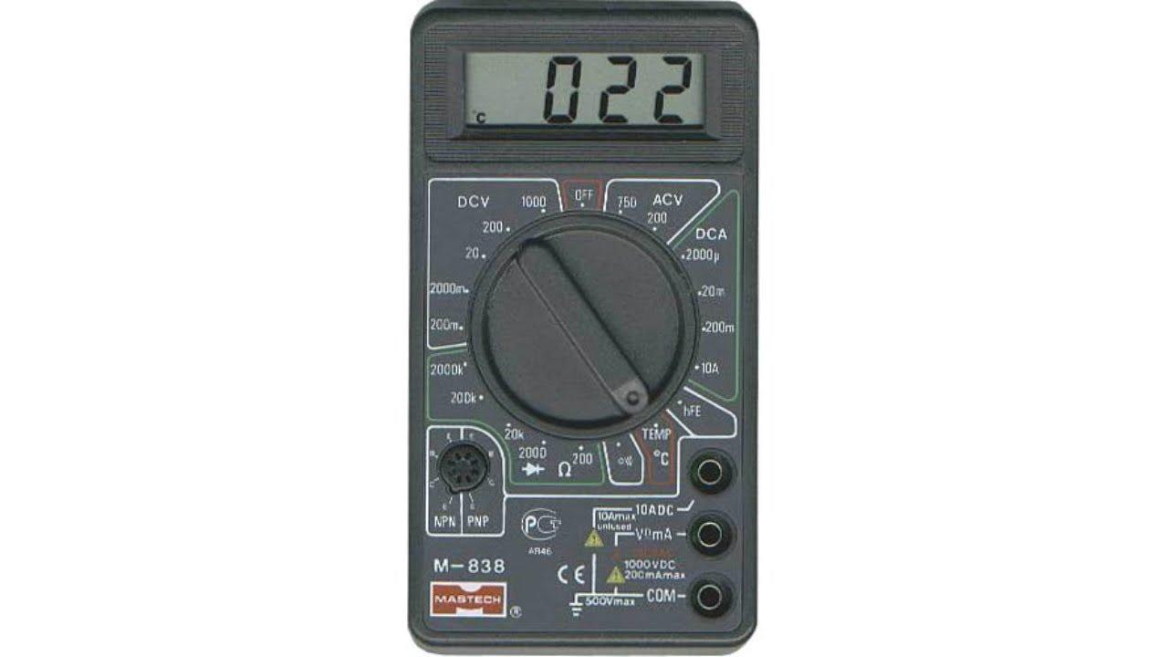 инструкция применения мультиметр dt 832
