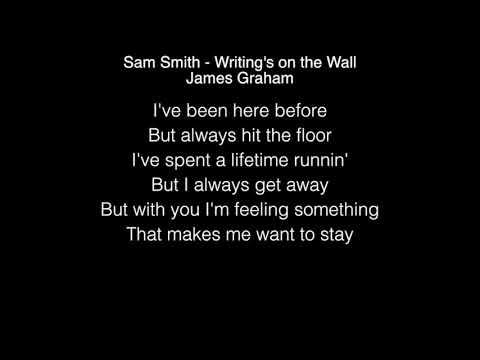 James Graham - Writing's on the Wall Lyrics (Sam Smith) The Four