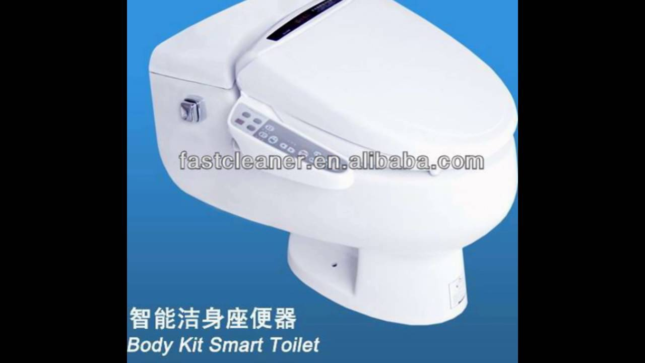 automatic toilet seats - YouTube