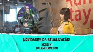 MODO X1 NO FREE FIRE! BALANCEAMENTO E NOVIDADES DA ATUALIZAÇÃO   Fala, Free Fire! #8