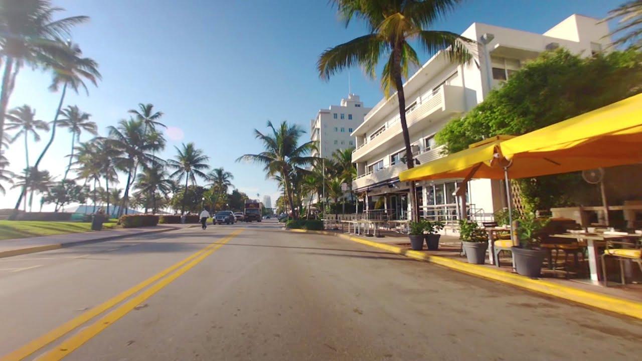 Drive Along Ocean South Beach