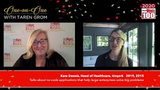 Kara Dennis, Unqork – 2020 PharmaVOICE 100 Celebration