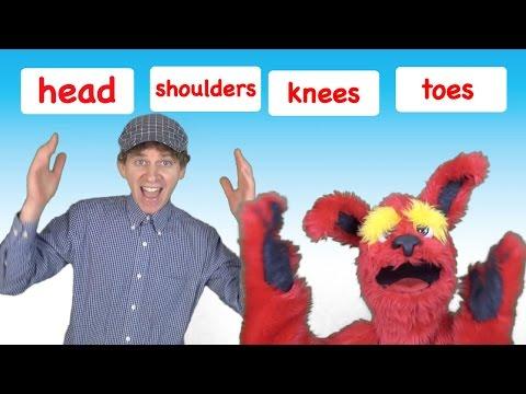 Head Shoulders Knees and Toes | Kids Song with Matt | Preschool, Kindergarten, Learn English