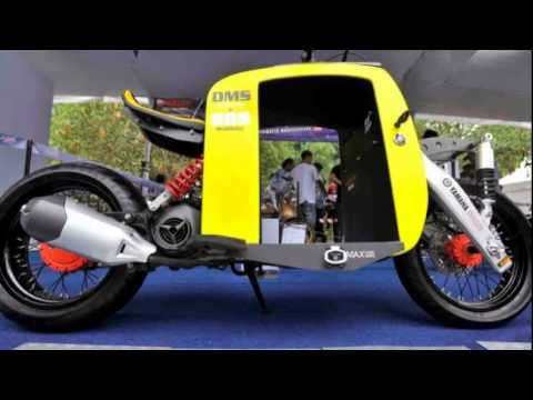 Video Cara Modifikasi Sepeda Motor Paling Keren Youtube
