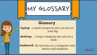 Informational Writing for Kids- Episode 8: Making a Glossary