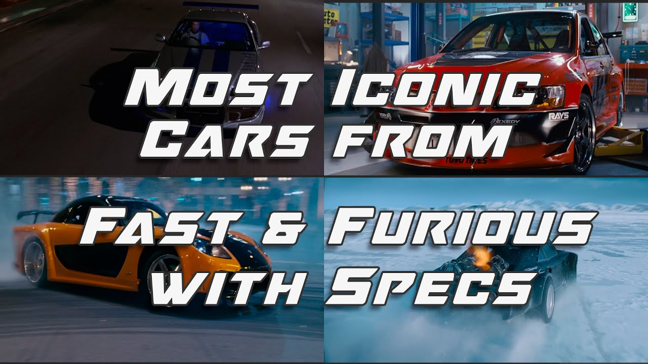 Download Top 10 Most ICONIC Cars from Fast & Furious + SPECS