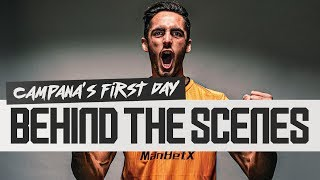 Transfer diary | Behind the scenes as Leonardo Campana signs for Wolves!