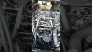 206 HDI 2l moteur broute claque et cale